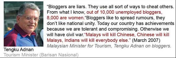 Bloggers are liars?