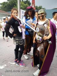 NTV7 Feel Good Run Cosplay organizers