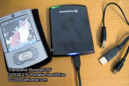 Transcend StoreJet 25F portable hard drive